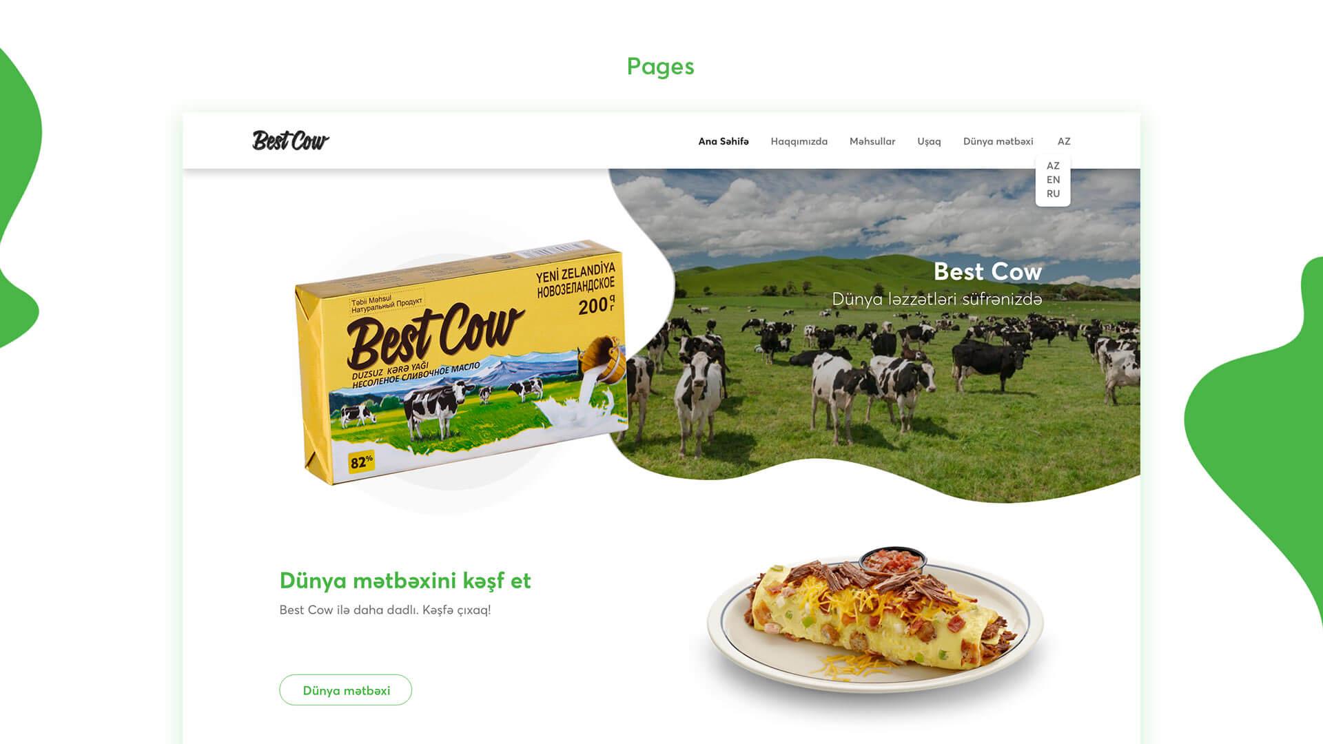 BestCow Web Site