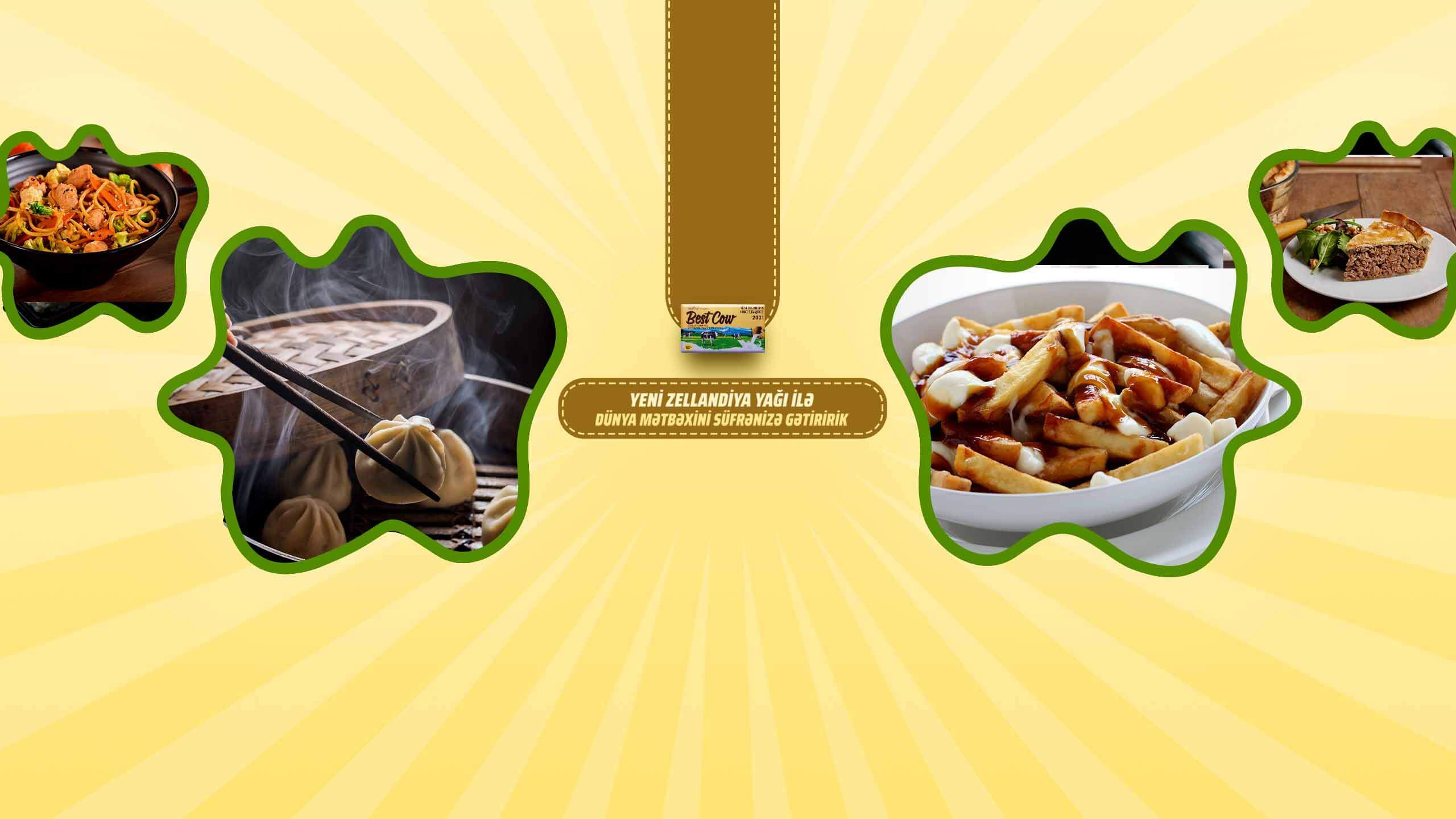 World cuisines with Best Cow